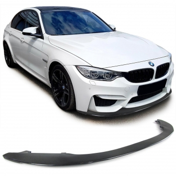 BMW M3 F80 M4 F82 Echt Carbon Performance Lippe Frontspoiler